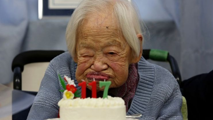 The world's oldest person revealed the delicious secret to long life before she died this week