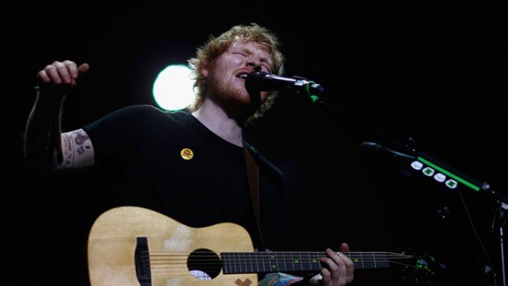 VIDEO: Full version of Ed Sheeran and Snow Patrol performing 'Chasing Cars' at a wedding