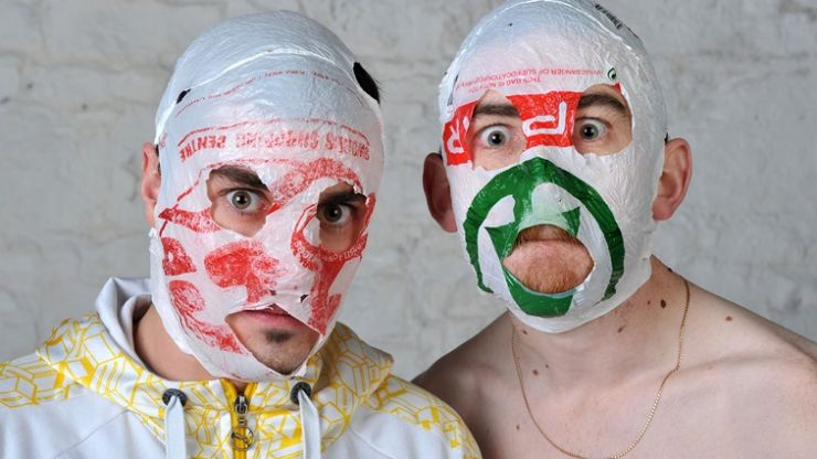 The latest Irish act to volunteer to represent us at Eurovision 2018? The RubberBandits