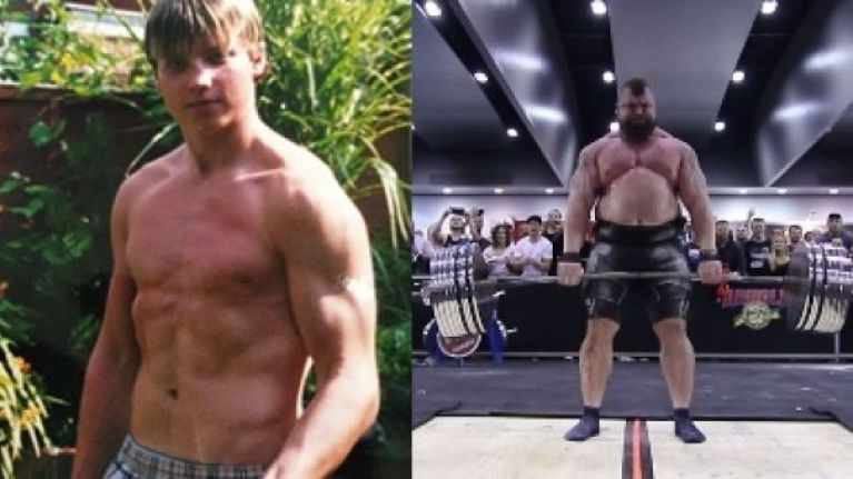 These bodybuilders' 'before' and 'after' shots give hope to us all