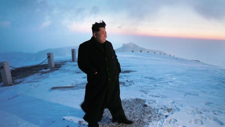 Scepticism greets claims that Kim Jong-un scaled North Korea's highest mountain