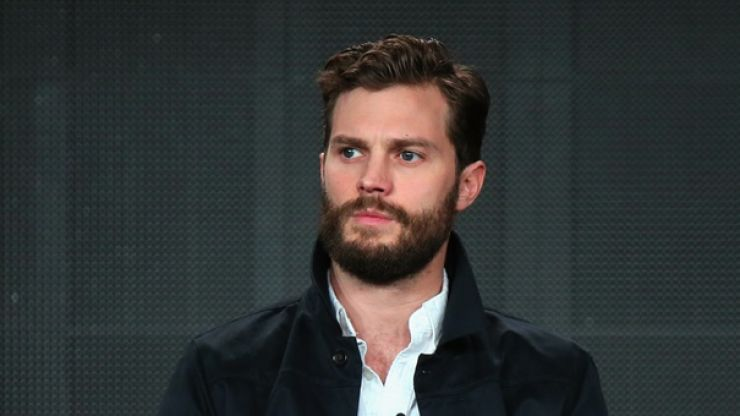 Everyone is talking about this pic of Jamie Dornan for one very obvious reason