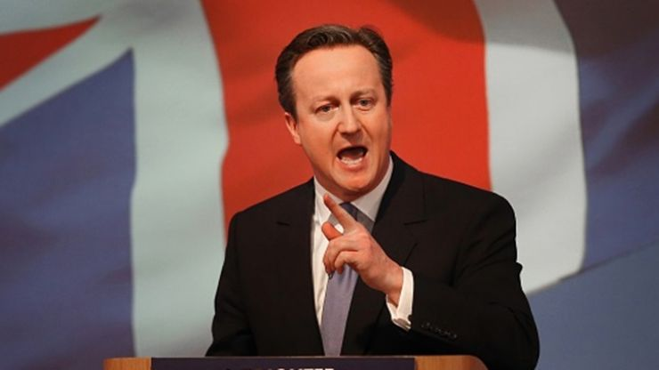 Pic: David Cameron stars in the funniest viral picture of the British election so far