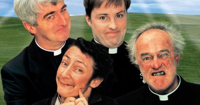100 British comedians voted a famous Father Ted line in the top five sitcom one-liners of all time