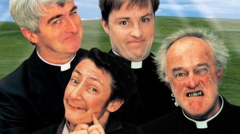 100 British comedians voted a famous Father Ted line in the