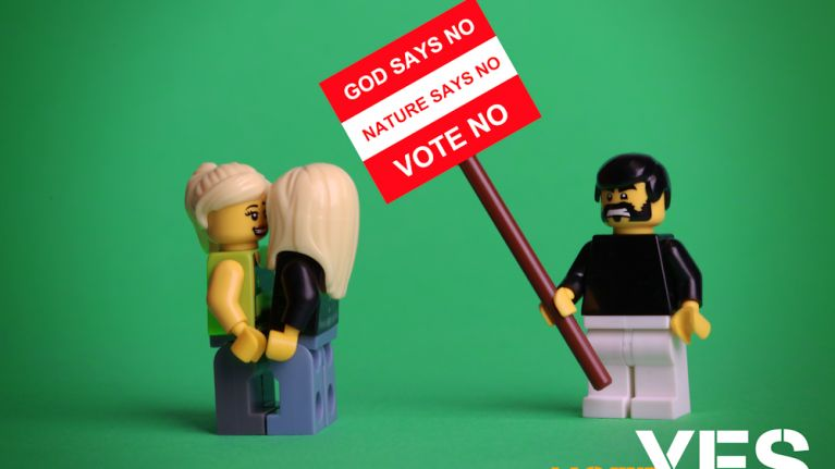 Gallery: Yes Equality posters have been recreated using LEGO and they're class