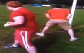 Video: Cork rugby player uses car to beat teammate in a foot race, wins, then turns car on its side