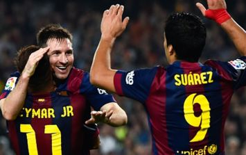 VIDEO: Barcelona have scored one of the most beautiful penalties we've ever seen
