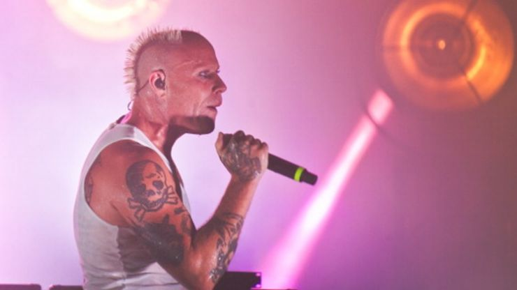 PICS: The lead singer from The Prodigy was pulling pints in Wicklow last weekend