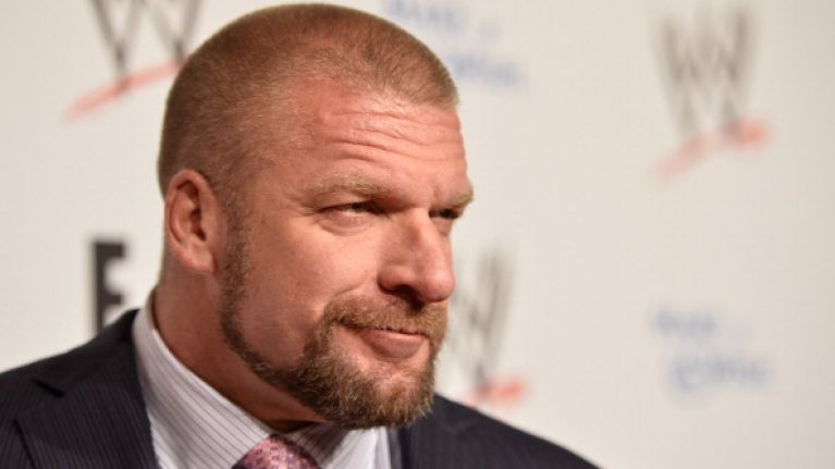 Pic: WWE's Triple H plans to eat this mountain of food over 3 days