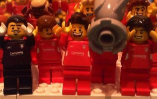 Video: The famous '05 Liverpool v AC Milan Champions League final has been recreated in Lego