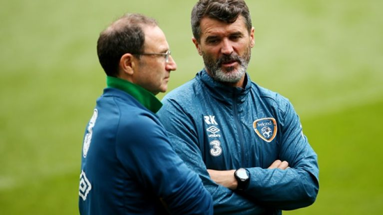 Here's the finalised Ireland squad for the upcoming games against Switzerland and Slovakia