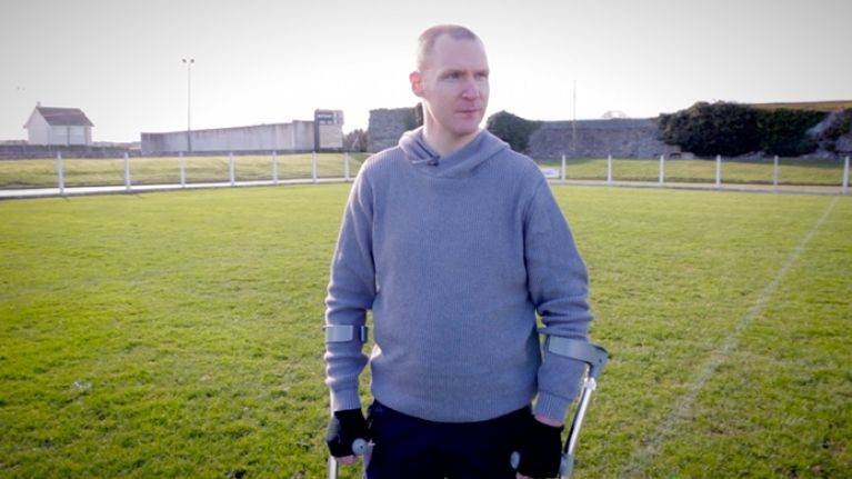 Video: Former hurler Dessie Fitzgerald on the injury that changed his life