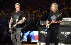 Video: Metallica channel Jimi Hendrix with this class version of the US anthem at the NBA finals