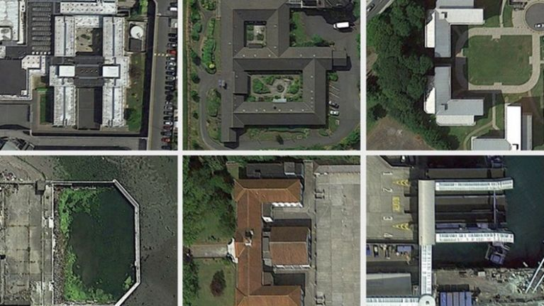 Google Map Of Dublin Ireland.Pic This A Z Map Of Dublin Made From Aerial Views On Google Maps Is