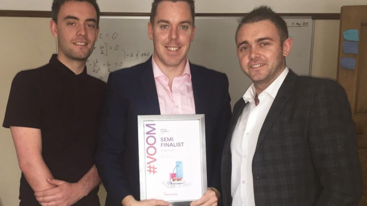 Your vote could help this Irishman win €205K & pitch his business to Richard Branson