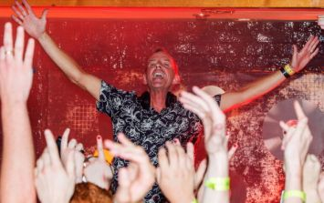 VIDEO: Fatboy Slim had a rave for toddlers to repay a favour
