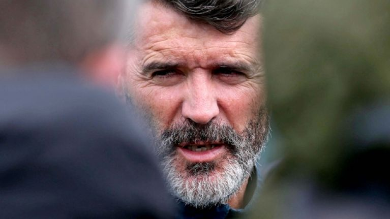 Roy Keane is suing Paddy Power over that Braveheart poster