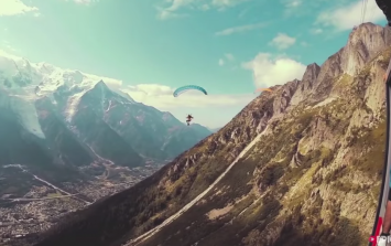 Video: Ballsy daredevil pulls off one of the craziest stunts you'll ever see