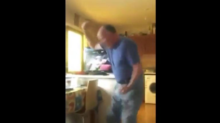 Video: This Irish dad's reaction to the Westmeath result is just priceless
