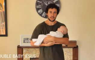 Video: This guy has found 21 different ways to hold a baby and they're hilarious