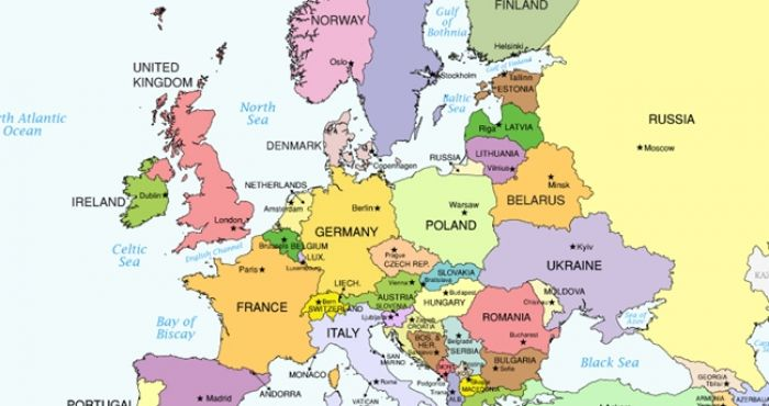 Map Of Europe Ireland.Check Out This Map Of The Most Disgusting Foods In Europe