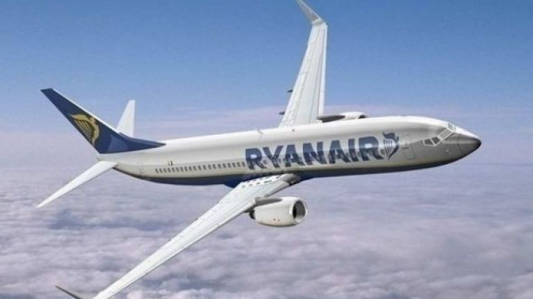 PIC: Michael O'Leary dressed up in a very special outfit for a Ryanair press conference today