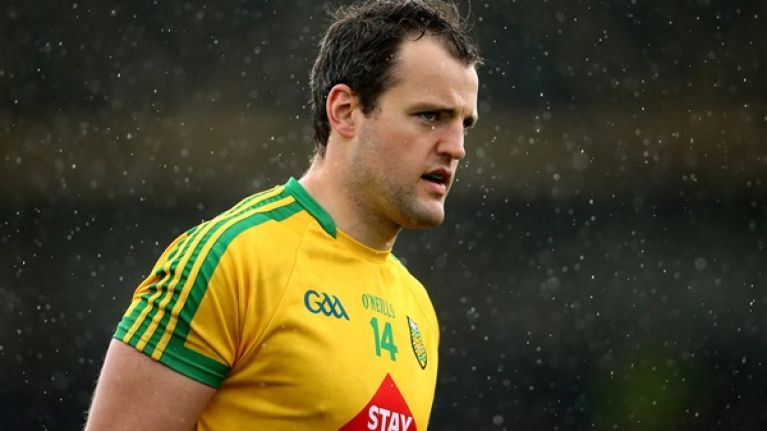 Michael Murphy will not play in Galway clash - Brendan Devenney