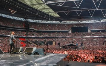 Video: Ed Sheeran meets Love/Hate's Nidge at Wembley