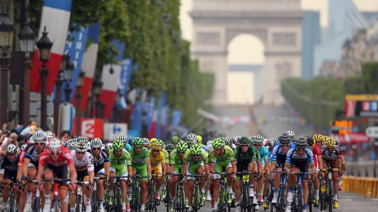 PIC: Tour de France cyclist shares photo of horror injury