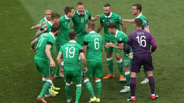 Ireland S Qualifying Group For The 2018 World Cup In Russia