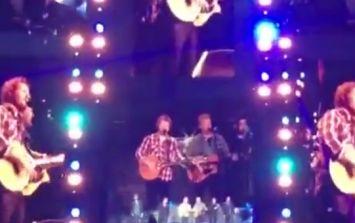 Video: Ed Sheeran, Glen Hansard and Kodaline singing 'Molly Malone' at Croke Park