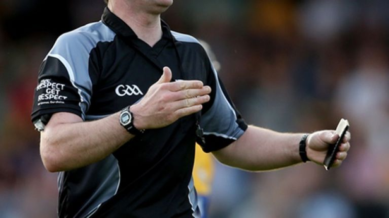 A movie about a controversial refereeing decision in the GAA is coming very soon