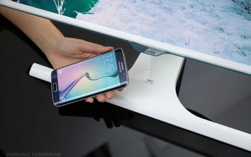 This new computer monitor will charge your smartphone wirelessly
