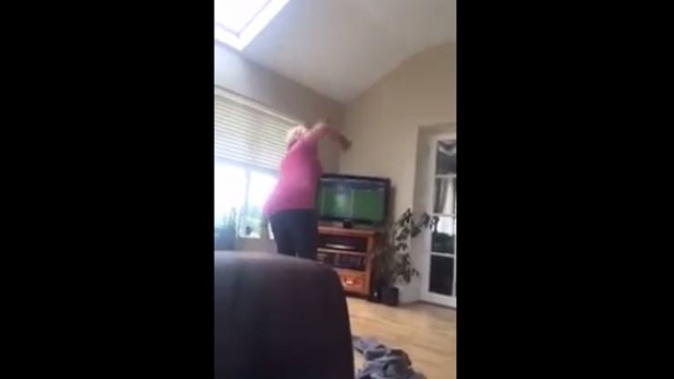 Video: This Irish mam losing her mind and cursing during Waterford v Dublin is wonderful