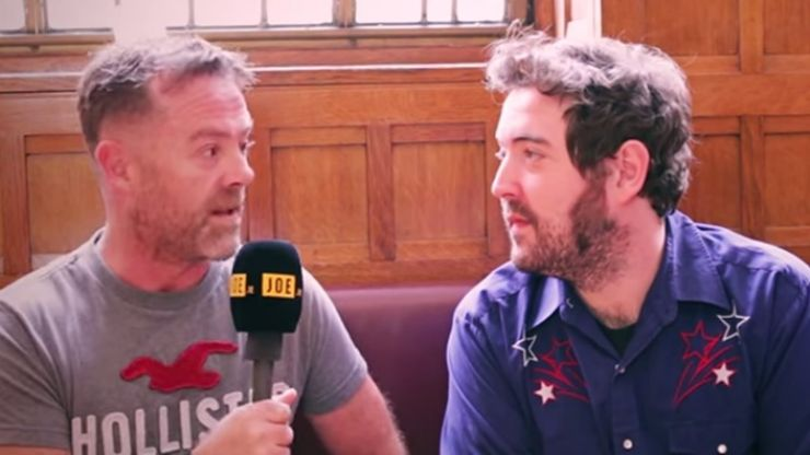 Video: Linda Lusardi and Father Ted priests - JOE spins the Tombola of Truth with an angry Nick Helm