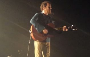 Video: Damien Rice with a wonderful version of The Blower's Daughter at the Marquee in Cork