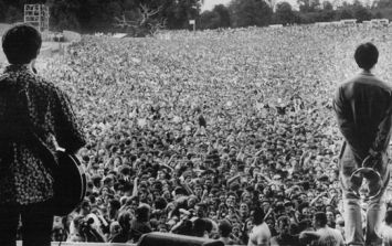 Video: 20 years ago today Oasis and REM rocked Slane while Johnny Depp watched on