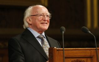 President Higgins leads housing crisis debate in rousing speech on Saturday