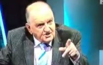 """Video: George Hook got very angry after an """"outrageous accusation"""" on TV3 last night"""
