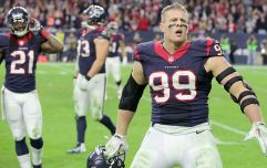 JJ Watt has to eat an insane amount of food to maintain his 9,000 calories a day diet
