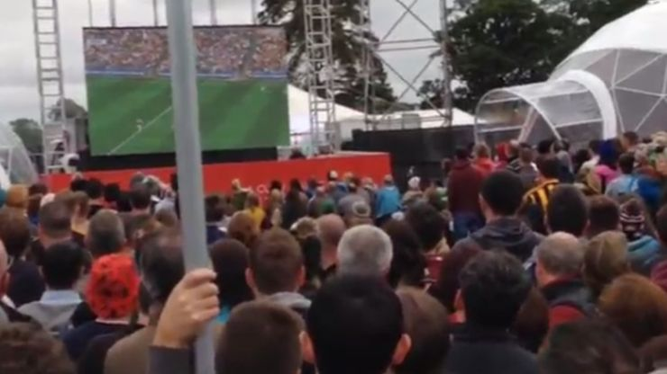 VIDEO: There's a massive crowd watching the All-Ireland Hurling Final at Electric Picnic
