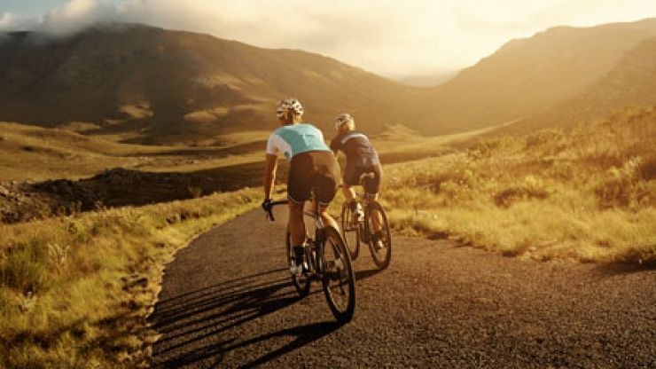 PIC: Want to bring your bottle of wine on a lovely bicycle ride? No problem