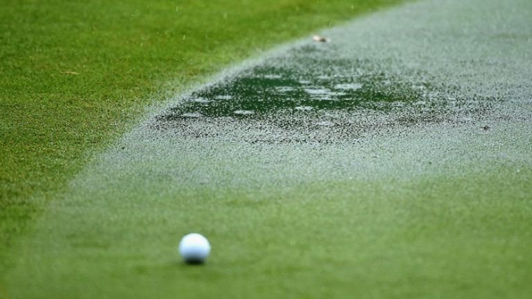 PIC: Look how flooded this golf course in Cork is after some