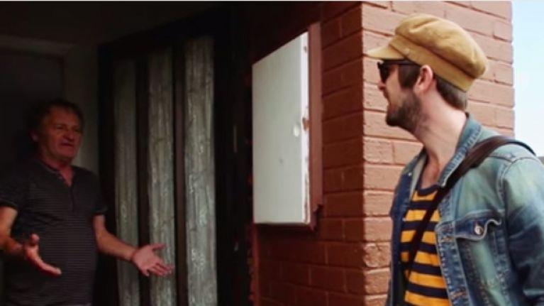 VIDEO: This is Anderson, he's selling music door-to-door in Dublin, and he's a legend