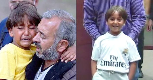 VIDEO: Syrian refugees kicked by camerawoman treated like VIPs by Real Madrid