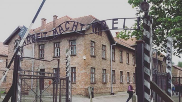 Irishman detained in Poland for defacing memorial at Auschwitz