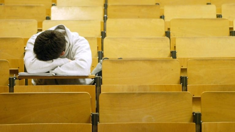 Almost one-third of third-level students in Ireland say they suffer from severe depression