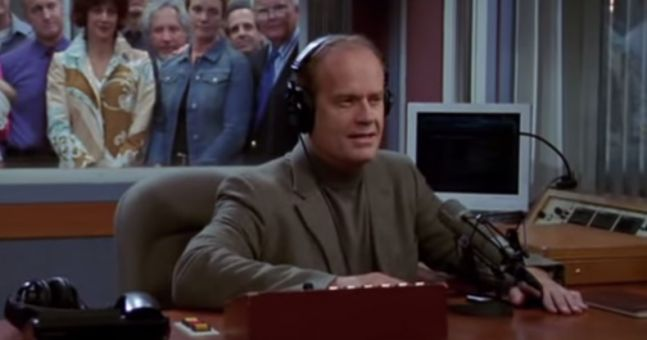 Music used in the great crane robbery frasier - answers.com