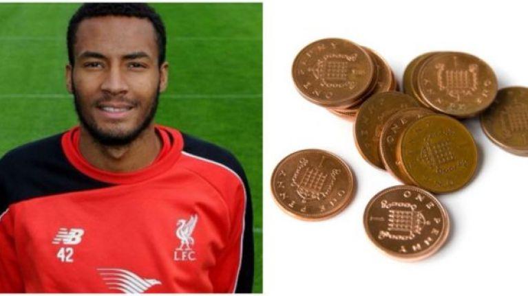 Liverpool goalkeeper paid club fine in pennies    so loan